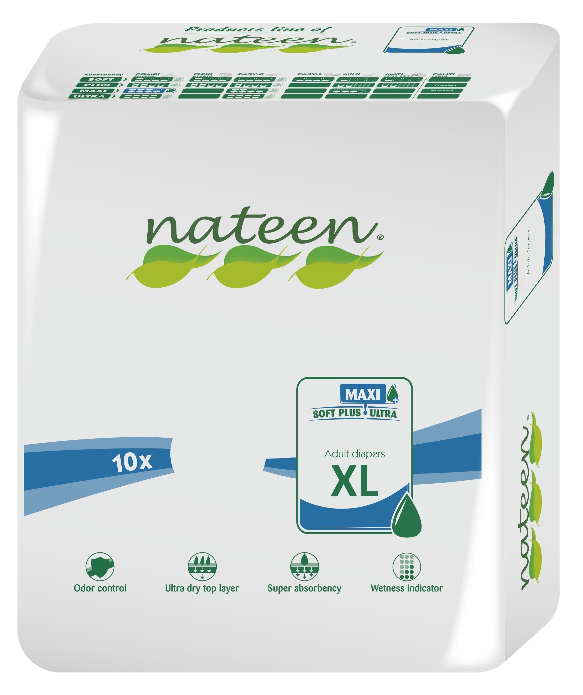 Nateen Flexi Maxi XL - 10 pull-up pants