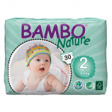 BAMBO NATURE MINI 2 - Babies from 3 to 6 kg - 30 diapers