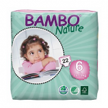 BAMBO NATURE Maxi-X-Plus 6 - Baby from 16 to 30 kg - 22 diapers