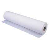 Comfortable white cellulose cotton examination sheet - 50 x 34 cm