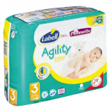 AGILITY LABELL N°3 - Packet of 32 nappies