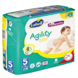 AGILITY LABELL N°5 - Packet of 25 nappies
