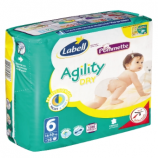 AGILITY LABELL N°6 - Packet of 26 nappies