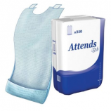ATTENDS® 250 disposable bibs