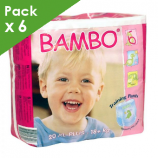 BAMBO Training Pants XL Plus - Box of 120 diapers for kids of 18 kg or more