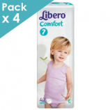 Libero Comfort 7 - Child from 15 to 30 kg - Box of 168 diapers