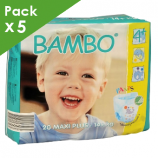 BAMBO Training Pants Maxi Plus - Box of 100 diapers for kids of 14 kg or more