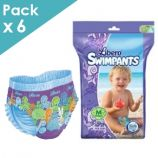 Libero SwimPants - Medium - Box of 36 swimming trunks with diaper
