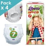 Libero Up&Go 7 - Child from 16 to 26 kg - Box of 72 pull-up pants