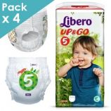 Libero Up&Go 5 - Child from 10 to 14 kg - Box of 88 pants