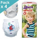 Libero Up&Go 6 - Child from 13 to 20 kg - Box of 80 pull-up pants