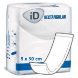 ID Expert Rectangular PE 8 x 30 cm - 12 protections droites intraversables