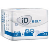 iD Expert Belt Plus - Large - 14 Belted all-in-one briefs