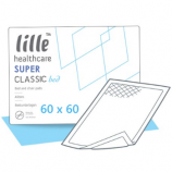 LILLE® CLASSIC BED SUPER - 60 x 60 cm - 30 bed protection sheets