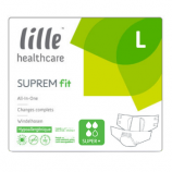 Lille Suprem Fit Super Plus - Large - 22 all-in-one briefs