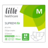 Lille Suprem Fit Super Plus - Medium - 22 all-in-one briefs
