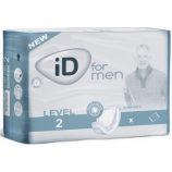 iD For Men Level 2 - 10 protection anatomiques