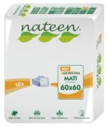 Nateen Mati Soft 60 x 60 cm - 10 bed protection sheets