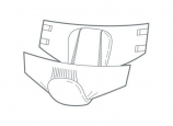 Lille Classic Fit Extra Medium - 28 all-in-one briefs