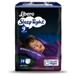 Libero Sleep Tight 9 - 22 à 37 kg - Paquet de 14 langes culottes