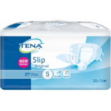 Tena Slip Plus Small Plasticised - 30 plasticised all-in-one briefs