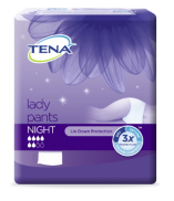 Tena Lady Pants Night - Medium - 8 protections