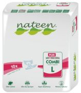 Nateen Combi Plus Large - 10 changes complets