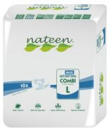 Nateen Combi Maxi Large - 10 All-in-on briefs