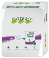 Nateen Combi Super Ultra Large - 10 All-in-on briefs