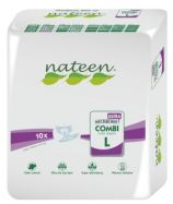Nateen Combi Ultra Large - 10 All-in-one briefs