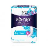 Always Discreet Serviettes Long - 10 incontinence pads