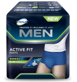Tena Men Active Fit Pants Plus Large - 10 protections