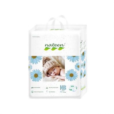 Nateen Baby New Born Diapers - Baby from 2 to 5 kg - 20 diapers