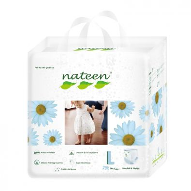 Nateen Baby Pull Ups Large - from 9 to 14 kg - 20 pull-up pants