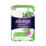 Always Discreet Serviettes Small - 20 incontinence pads