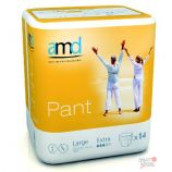 AMD Pant Extra - Pull On - Large - 14 protective underwear