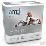 Amd Form Maxi Plus - Paquet de 20 couches anatomiques