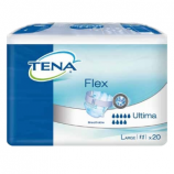 TENA® FLEX ULTIMA - 20 belted all-in-one briefs - Large