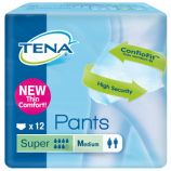 TENA® PANTS SUPER - 12 Pull-Up Protective Underwear - Medium