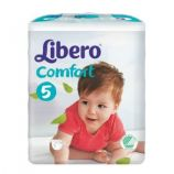 Libero Comfort 5 - Child from 10 to 16 kg - 50 diapers