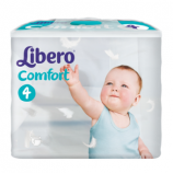 Libero Comfort 4 - Child from 7 to 14 kg - 54 diapers